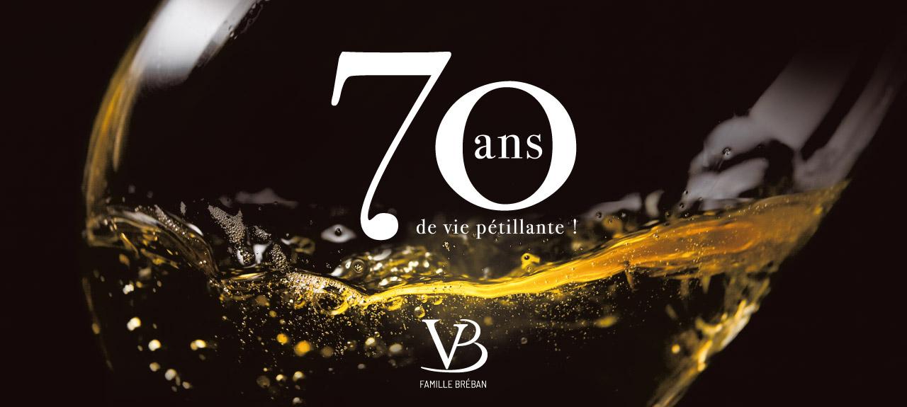Anniversaire des 70 ans des Vins Bréban