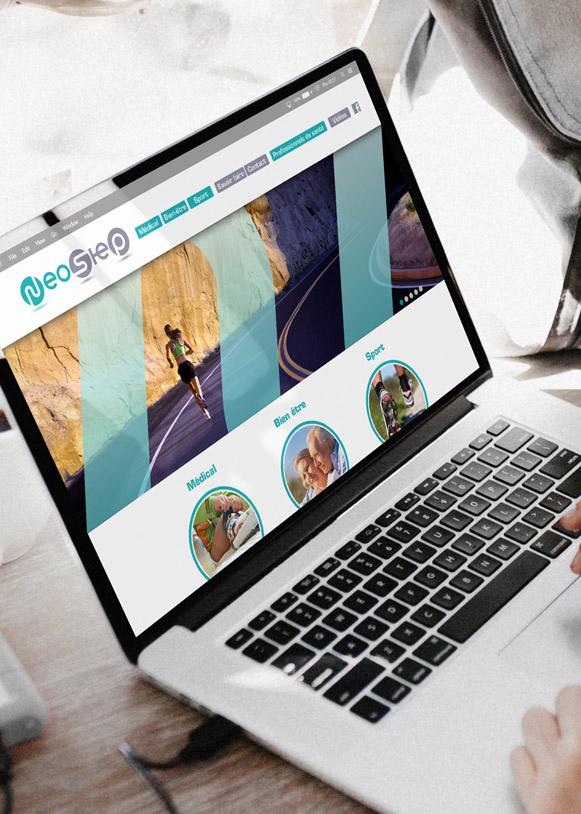 Site internet de Neostep