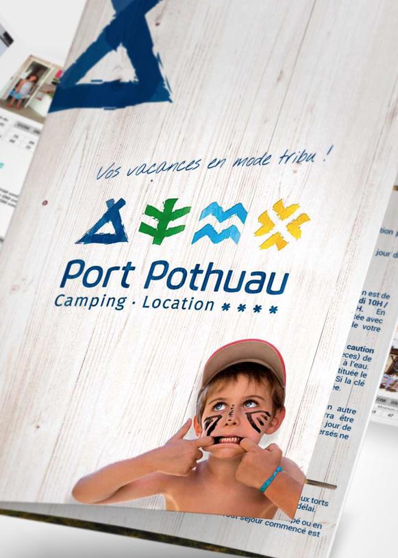Plaquette présentation du camping Port Pothuau