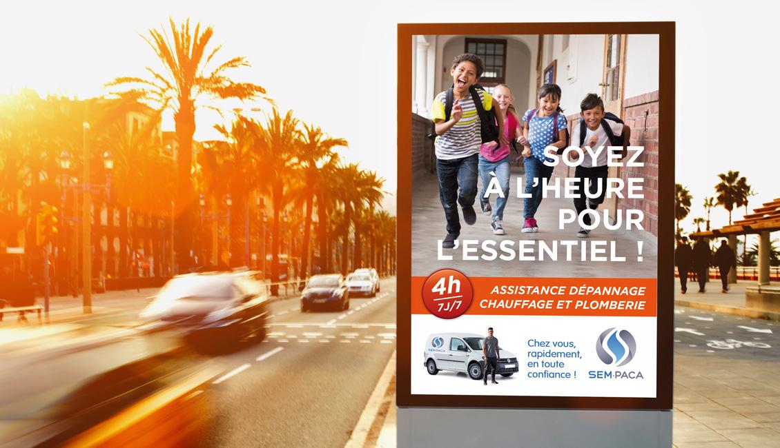 Campagne de communication Sem Paca