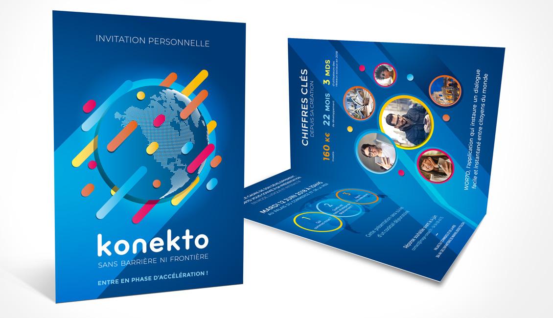 Plaquette de présentation de KONEKTO