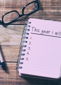 Les bonnes résolutions 2019 Image Conseil